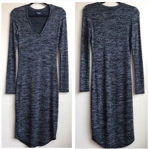Aritzia Wilfred Free Lisiere Midi Dress